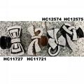 fashion clear crystal rhinestone plastic hair claw clips in stock 5
