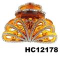 fashion clear crystal rhinestone plastic hair claw clips in stock 8