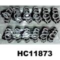 fashion clear crystal rhinestone plastic hair claw clips in stock 12