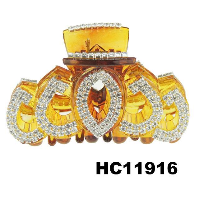 ladies elegant crystal stone plastic hair claw clips wholesale 14