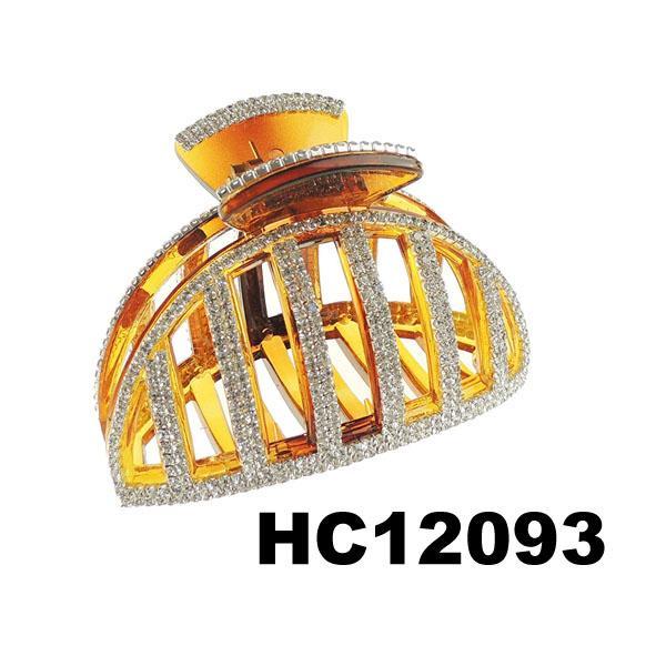 ladies elegant crystal stone plastic hair claw clips wholesale 16