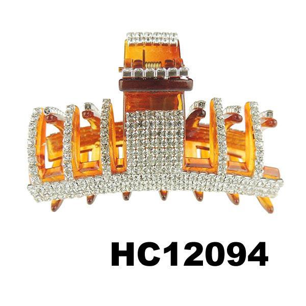 ladies elegant crystal stone plastic hair claw clips wholesale 17