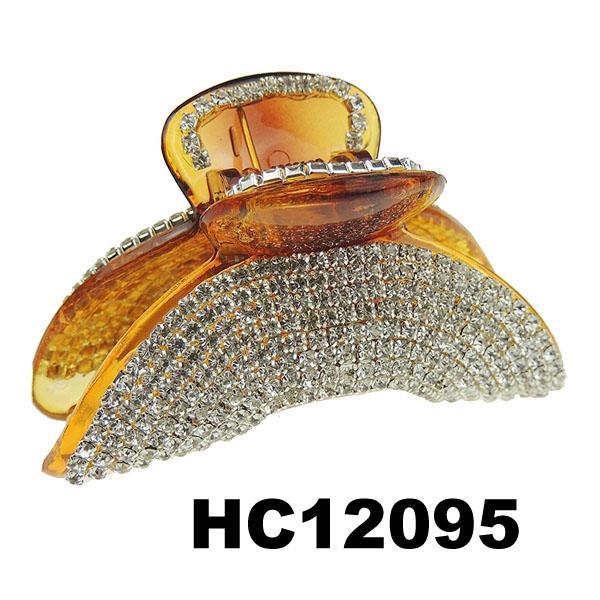 ladies elegant crystal stone plastic hair claw clips wholesale 18