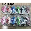 fashion women colored crystal stone plastic hair claw clips wholesale 5