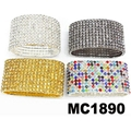 fashion women ladies 10 rows crystal stone bracelet wholesale