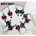 fashion women antique crystal dangling earrings wholesale 3