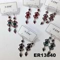 fashion women antique crystal dangling earrings wholesale 6