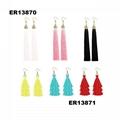 fashion women cute rope dangling tassels earrings wholesale