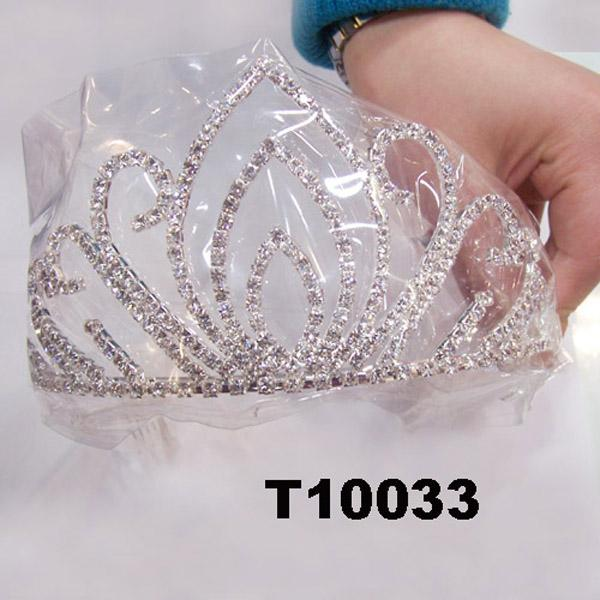 wholesale fashion glitter crystal rhinestone stone tiaras crown 1
