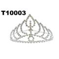 wholesale fashion glitter crystal rhinestone stone tiaras crown 2