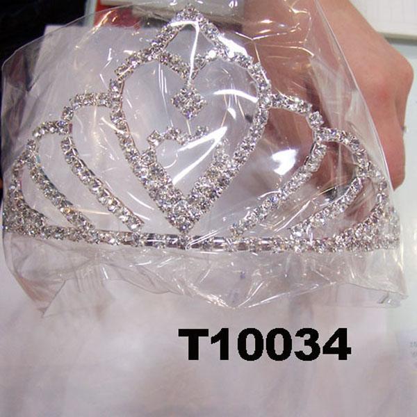 wholesale fashion glitter crystal rhinestone stone tiaras crown 3