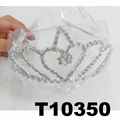 wholesale fashion glitter crystal rhinestone stone tiaras crown 6