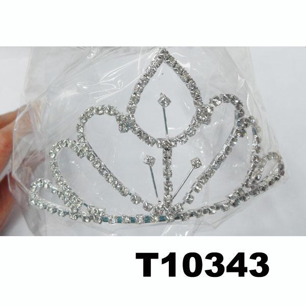 wholesale fashion glitter crystal rhinestone stone tiaras crown 7