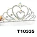 wholesale fashion glitter crystal rhinestone stone tiaras crown 8