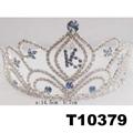wholesale fashion glitter crystal rhinestone stone tiaras crown 9