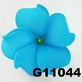 wholesale girls kids foam hawaii flower hair clip 2