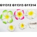 wholesale girls kids foam hawaii flower hair clip 4