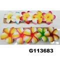 wholesale girls kids foam hawaii flower hair clip