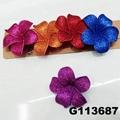 wholesale girls kids foam hawaii flower hair clip 5