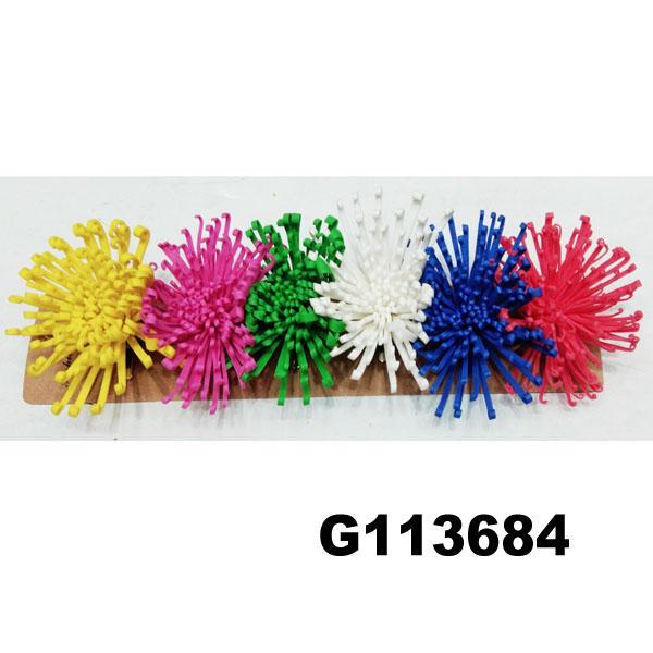 wholesale girls kids foam hawaii flower hair clip 6