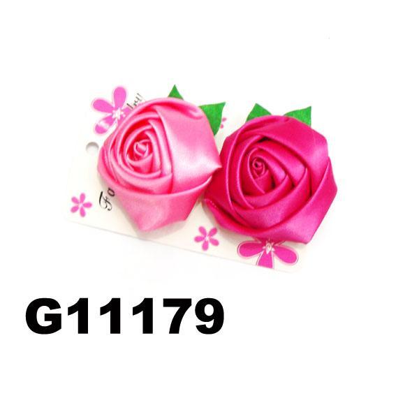 wholesale girls kids foam hawaii flower hair clip 7