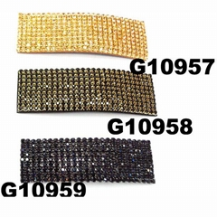 fashion crystal wide hairgrip hair clips wholesale