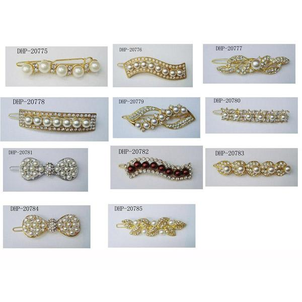 fashion crystal wide hairgrip hair clips wholesale 2