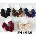 wholesale women girls satin hair band hair scrunchies