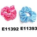wholesale women girls satin hair band hair scrunchies 7