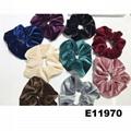 wholesale women girls satin hair band hair scrunchies 10
