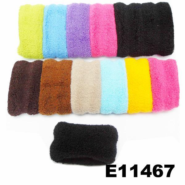 women girls daily use black nylon hair band wholesale 7