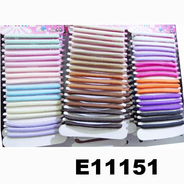 women girls daily use elastic rubber band hair ties wholesale 1