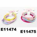 women girls daily use elastic rubber band hair ties wholesale 3