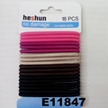 women girls daily use elastic rubber band hair ties wholesale 6