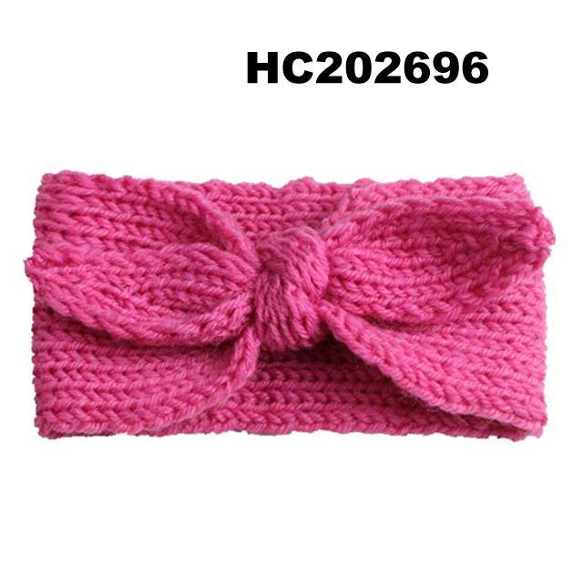 baby girls wool crochet knit headbands wholesale 2