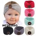 baby girls wool crochet knit headbands wholesale 3