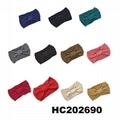 baby girls wool crochet knit headbands wholesale 4