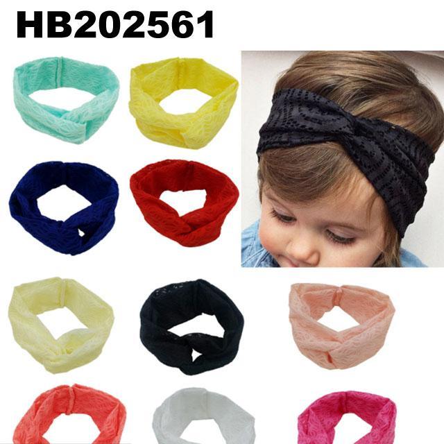 baby girls wool crochet knit headbands wholesale 5