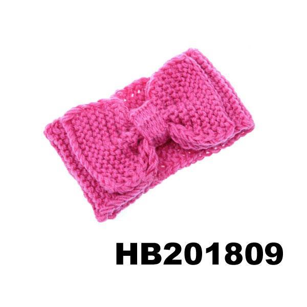 baby girls wool crochet knit headbands wholesale 6