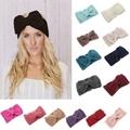baby girls wool crochet knit headbands wholesale 7