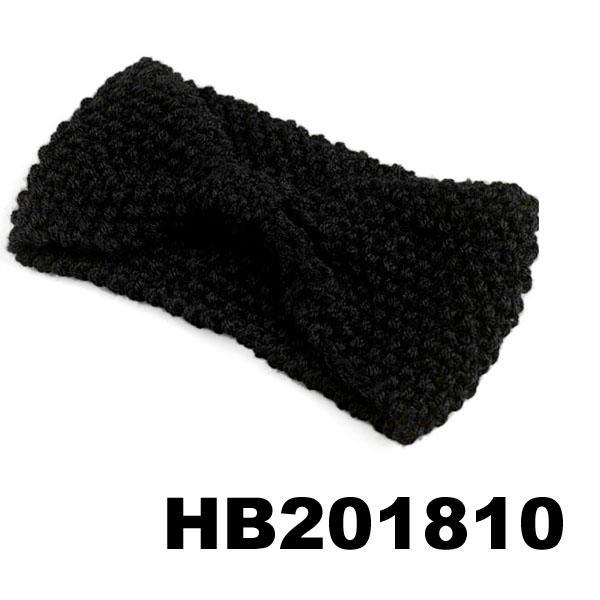 baby girls wool crochet knit headbands wholesale 8