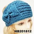 baby girls wool crochet knit headbands wholesale 10