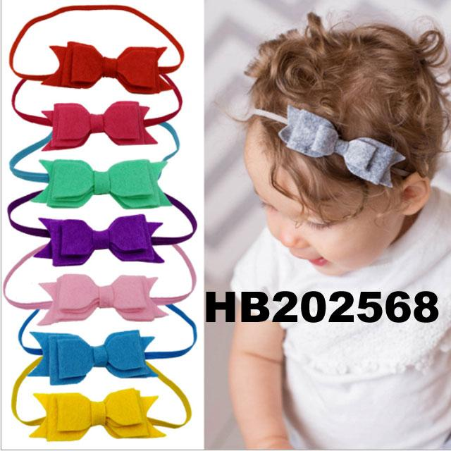 baby girl sequin butterfly elastic baby headband wholesale 7
