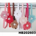 baby girl sequin butterfly elastic baby headband wholesale 9