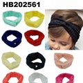 wholesale beautiful chiffon flower elastic baby hair band wholesale 7
