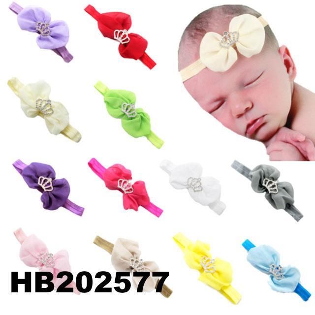 fashion milk silk bow flower elastic baby hairband wholesale 11