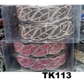wholesale multi color crystal stone plastic hair band 11