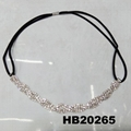 fashion women crystal stone elastic forehead headband wholesale