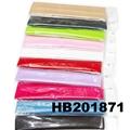 fashion milk silk fabric stretch hair band wholesale