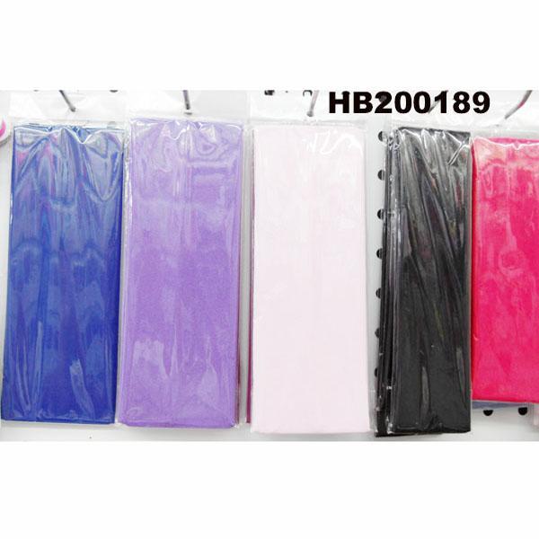 fashion milk silk fabric stretch hair band wholesale 2